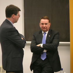 Tommy Thompson visits Marquette Law School