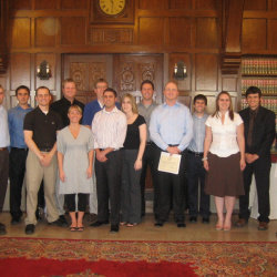 2008 Sports Law Certificate Ceremony