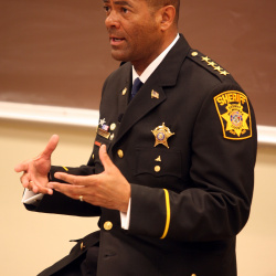 Join Sheriff Clarke and the Law School's Mike Gousha